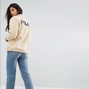 fila sherpa jacket